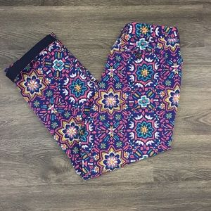 Lands End Moroccan Cropped Pants